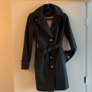 NWOT Calvin Klein Trench Coat with hood